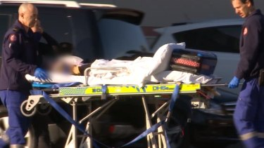 The six-year-old girl was taken to hospital in a critical condition after the accident.