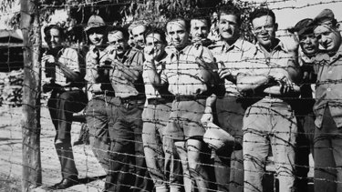 WWI Internees at Holsworthy German Internment Camp near Liverpool, NSW.