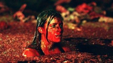 Shauna Macdonald in <i>The Descent</i>.