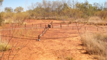 Seismic monitoring equipment at Warramunga monitoring station near Tennant Creek in Northern Territory.