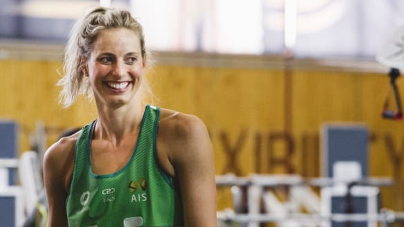 Diamonds star Laura Geitz wants to win Commonwealth Games gold with pram courtside