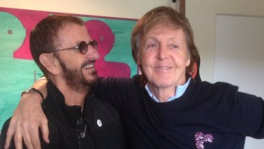 Surviving Beatles Ringo Starr and Paul McCartney said the music world had lost a great artist.