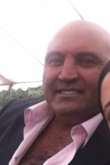 Joe Antoun, murdered in December.