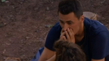 Bernard Tomic looked on edge in last night's episode of I'm A Celebrity ... Get Me Out of Here.