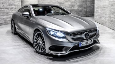 The stunning S-Class Coupe was revealed for the first time in Australia at Motorclassica.