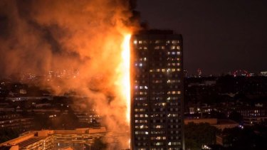 Grenfell Tower in London.