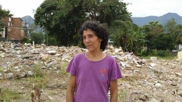 Maria da Penha Maceno became the face of the struggle at Vila Autodromo.