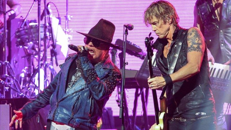 Guns N' Roses tour dates of Australia in 2017 leak early