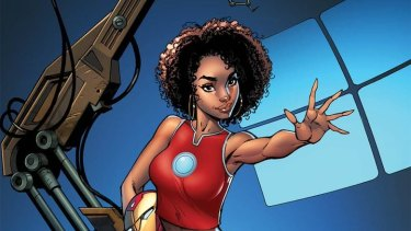 Fans were not happy about this depiction of Marvel character, Riri Williams.