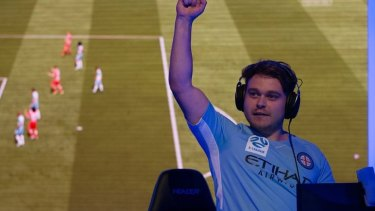 Real figures, virtual game: The E-League's opening night attracting 138,000 viewers.