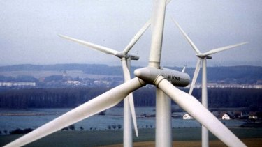 The winds of change: renewables are set to give coal a run for its money.