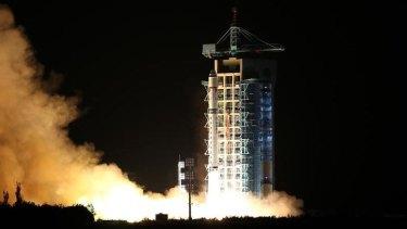 China's first quantum satellite, the Micius.