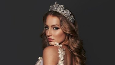 Newly crowned Miss Grand International Claire Parker.