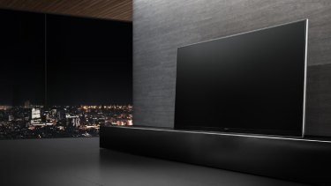 Panasonic's hefty AX900 Ultra HD range aims to offer plasma-grade LED.