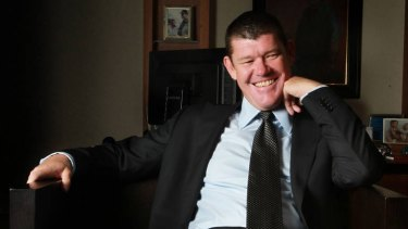 James Packer's Consolidated Press Holdings owns Crown Casino.