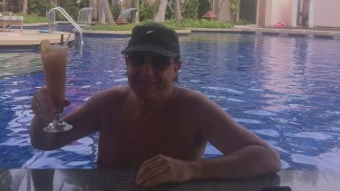 NewSat founder and former chief executive Adrian Ballintine in Phuket.