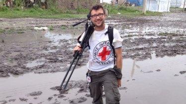 Red Cross spokesman Pawel Krzysiek