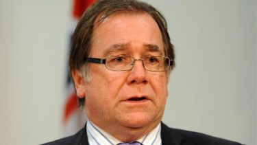New Zealand Foreign Affairs Minister Murray McCully.