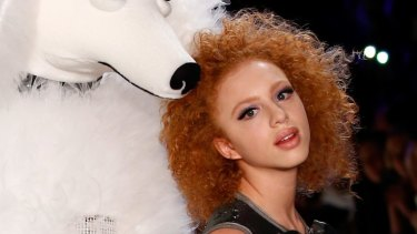 Child star: Boris Becker's 15-year-old love child Anna Ermakova is now a model.