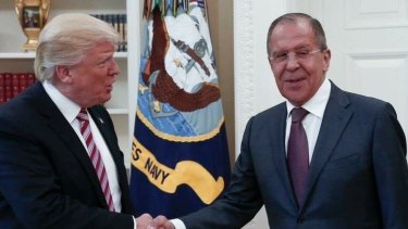 A number of probes are investigating US President Donald Trump's relationship with Russia. Here he is meeting with Russian Foreign Minister Sergey Lavrov in the Oval Office.