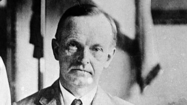 """Calvin Coolidge once proclaimed that the business of America """"is business""""."""