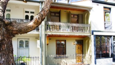 Surry Hills is densely developed and sought after.