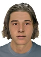 The composite image of the man police want to speak to over the Seaford sexual assault.
