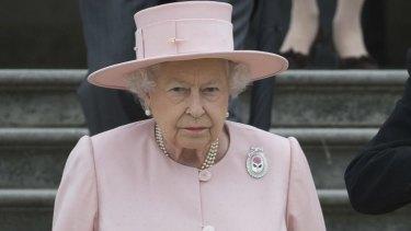 'Deepest sympathy': Queen Elizabeth.
