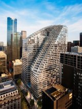 The new W Hotel in Melbourne on Collins Street will open in 2020 and is being developed in partnership with Daisho Development Melbourne and Cbus Property.