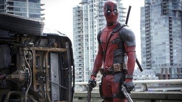Record run ... Ryan Reynolds as superhero Deadpool.