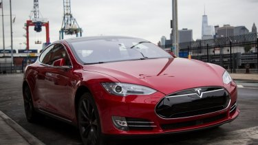 """A Tesla Model S. Tesla said any suggestion that it was trying to keep owners from reporting safety problems """"is preposterous""""."""