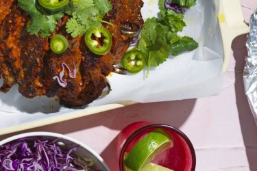 Danielle Alvarez recipe: Al pastor pork tacos.