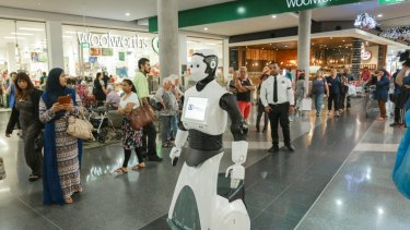 Chip is one of only three models in the world being used at Stockland malls.