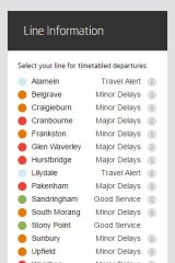 An update from the Metro website on Monday morning.
