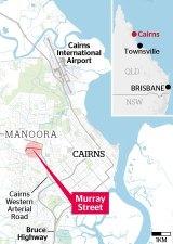 A map shows where the where bodies were found.