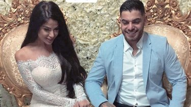 The wedding of Sam Sayour and Aisha Mehajer.