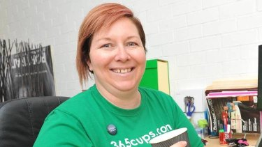 Simone Eyles runs two businesses from Wagga Wagga.