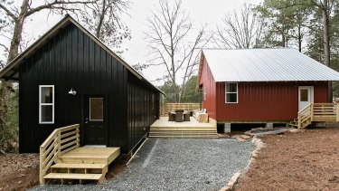 Rural Studio's 20K House project in Serenbe, outside Atlanta.