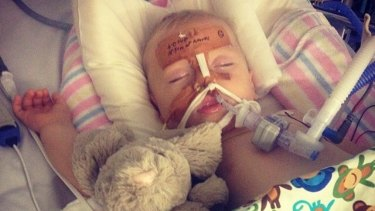 Nine-month old Leo was on a feeding tube for a number of weeks and suffered respiratory problems in the year after he swallowed a button battery.