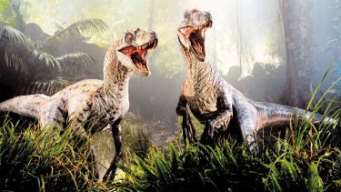 Was the dinosaur stampede more of a stroll