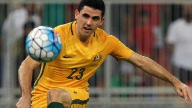 Star attraction: Socceroos midfielder Tom Rogic.