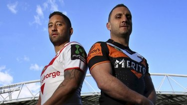 Best buddies: Benji Marshall and Robbie Farah.