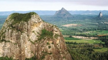 A woman has fallen 10 metres on Mount Tibrogargan.