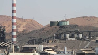 The Mount Isa mine where the miner went missing on Wednesday.