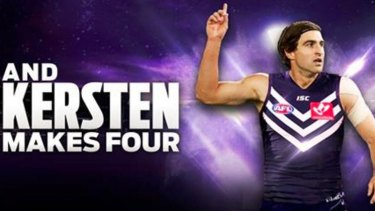 Shane Kersten is Fremantle's fourth signing in the trade period.