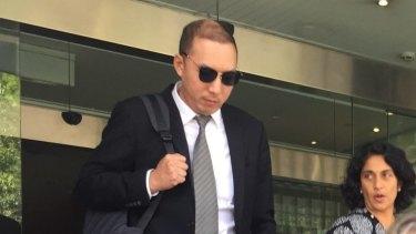Dr Orison Kim leaves the Coroner's Court on Monday.