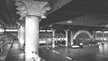 Cloudland Ballroom Brisbane just before it was demolished in November 1982.