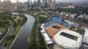 Victoria says the Australian Open is not leaving Melbourne Park