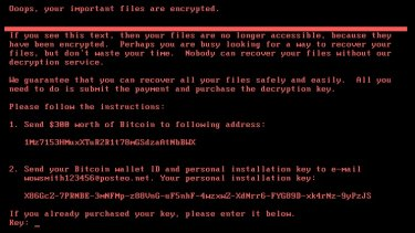 The so-called Petya attacks were reminiscent of the earlier WannaCry.