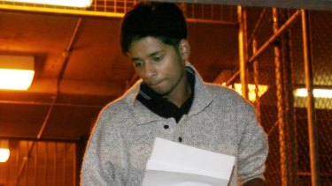 Puneet Puneet after being bailed from the Melbourne Magistrates Court in 2008.